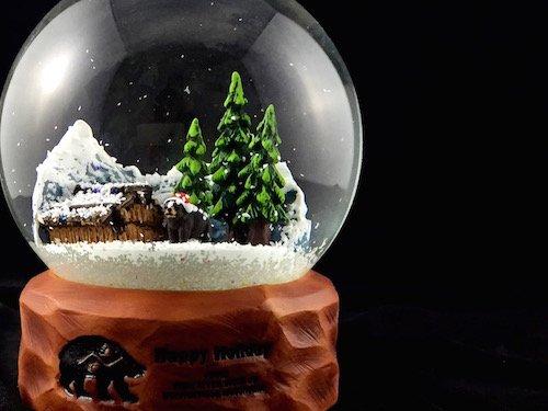 Custom Snow Globes Bear River Band