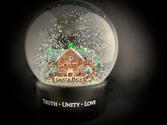 Custom Snow Globes Tulsa Cascia Hall