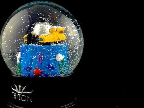 Custom Snow Globes Triton Submarines