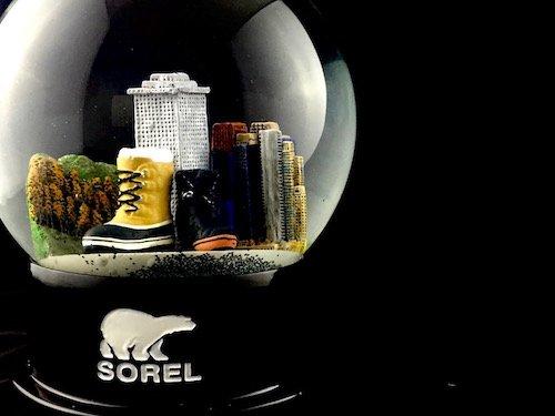 Custom Snow Globes Sorel Footwear