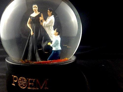 Custom Snow Globes Fashion House Poem Bangkok