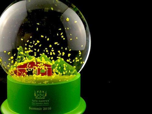 Custom Snow Globes Tata Harper Skin Care