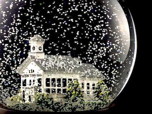 Custom Snow Globes Acton Town Hall