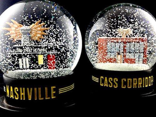 Custom Snow Globes Third Man Records