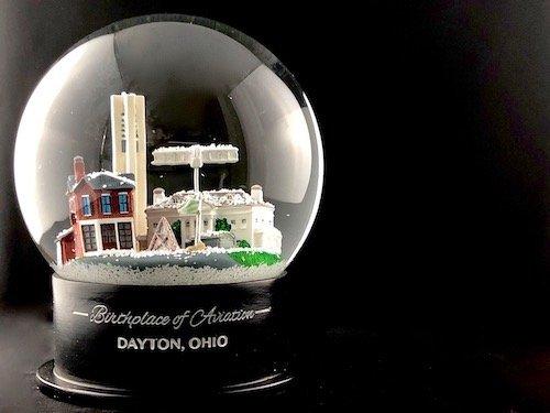 Custom Snow Globes Birthplace of Aviation Dayton, Ohio