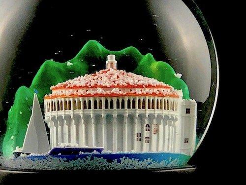 catalina island casino snow globes