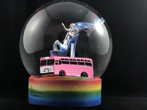 custom snow globe priscilla the musical