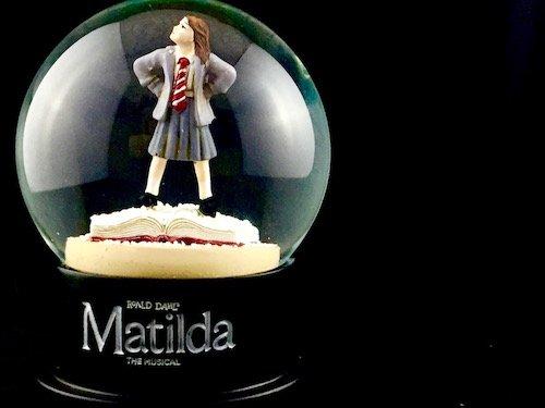 Custom Snow Globes Roald Dahl Musical Matilda