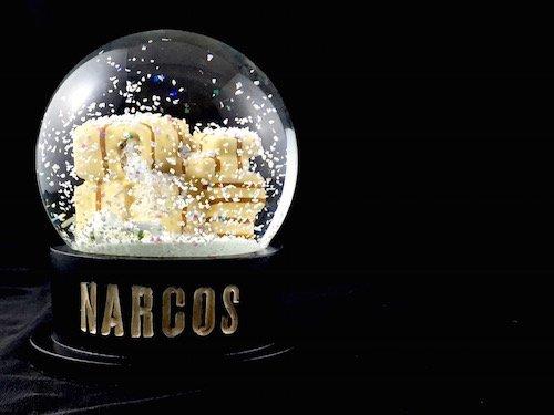 Custom Snow Globes Netflix TV Series Narcos