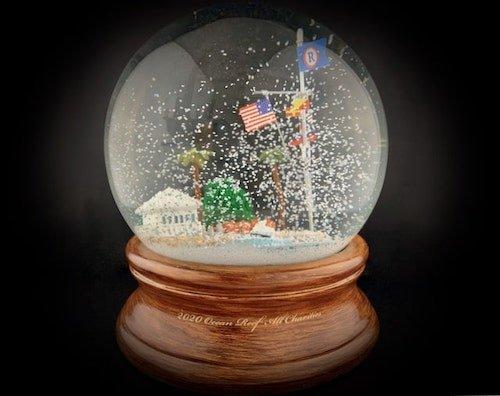 Custom Snow Globes Florida Ocean Reef