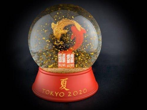 Custom Snow Globes WXIA TV 2020 Tokyo