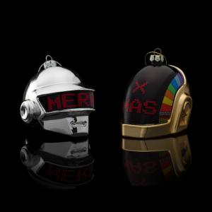 Custom Glass Ornaments Daft Punk