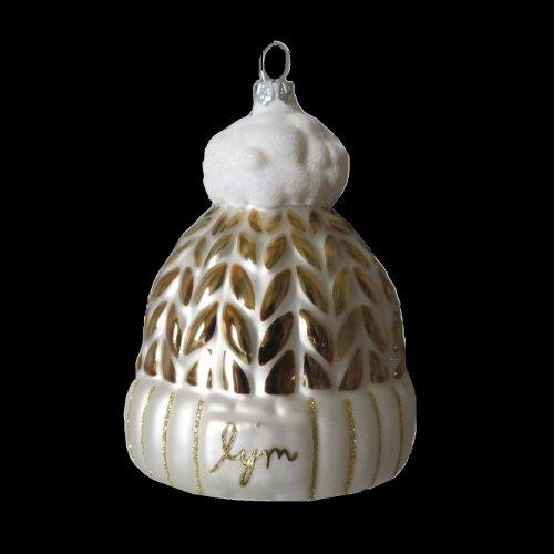 Beanie-custom-glass-ornament-gold