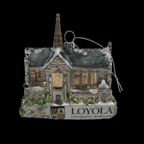 Custom Glass Ornaments Loyola