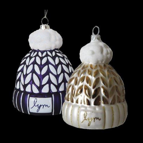 Custom Glass Ornaments LYM Love Your Melon